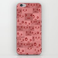 mad iPhone & iPod Skins featuring Mad by Jessica Jimerson