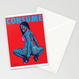 CONSUME NICKI M Stationery Cards
