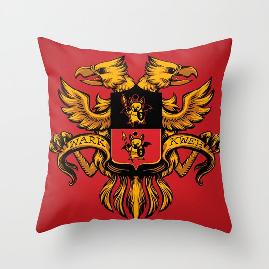 Crest de Chocobo Throw Pillow