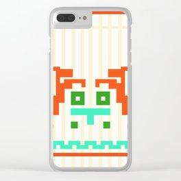Deer Shirt Clear iPhone Case
