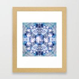 Resinate Mandala Framed Art Print