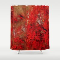 earth Shower Curtains featuring Earth by Saundra Myles