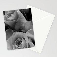 Roses Black & White #4 Stationery Cards