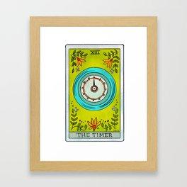 The Timer | Baker's Tarot Framed Art Print