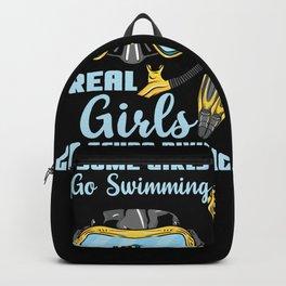 Scuba Diving - Female Scuba Diver Gift  Backpack