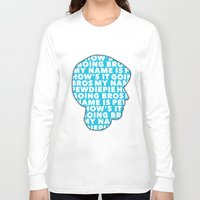 pewdiepie Long Sleeve T-shirts featuring How's it going bros! Pewdiepie by ElectricShotgun