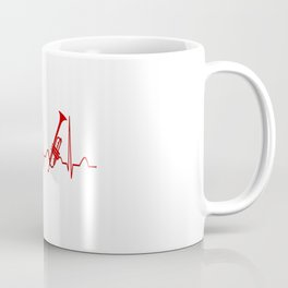 TRUMPET HEARTBEAT Coffee Mug