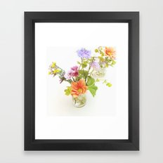 Flowers! Framed Art Print