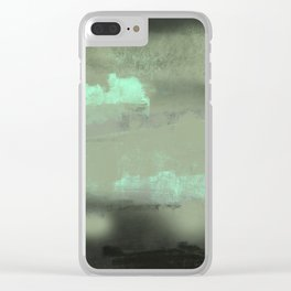 Abstract texture background illustration intricate pattern painting Clear iPhone Case