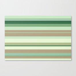 minimalistic horizontal stripes pattern tg Canvas Print
