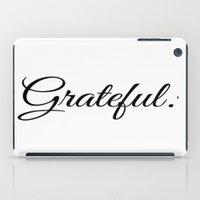 grateful dead iPad Cases featuring Grateful by I Love Decor