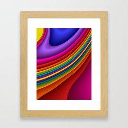 fluid -7- Framed Art Print