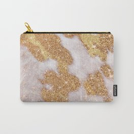 Golden Cowhide Faux Skin Print (smooth print, viii 2021)  Carry-All Pouch