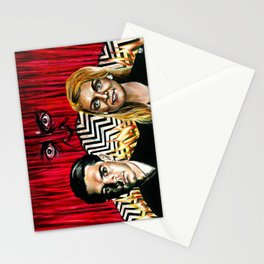 """""""The Red Room"""" by Kristin Frenzel Stationery Cards"""