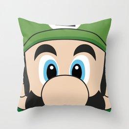 LUIGI POSTER Throw Pillow
