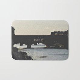 silhouettes. Bath Mat