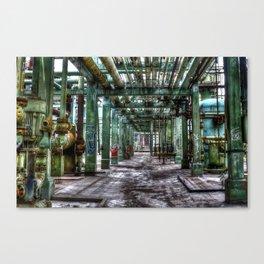 Pipe Rack Canvas Print