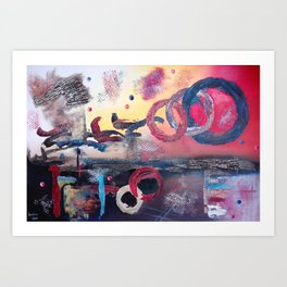 Art.For the people by Ildiko Csegoldi Art Print