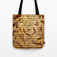 bamboo Tote Bags featuring Bamboo by Robin Curtiss
