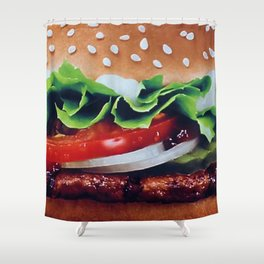 Boiga Shower Curtain