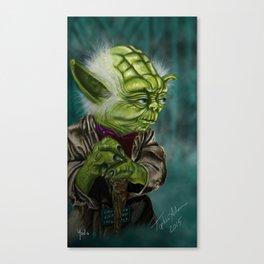 I am, Yoda you seek. By Topher Adam 2015 Canvas Print
