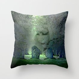 ANCIENT WATCH Throw Pillow