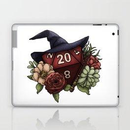Wizard Class D20 - Tabletop Gaming Dice Laptop & iPad Skin