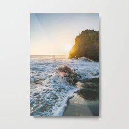 Wave Crush  Metal Print