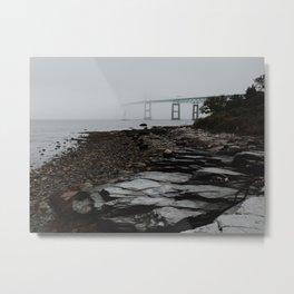 Claiborne Pell Newport Bridge Metal Print