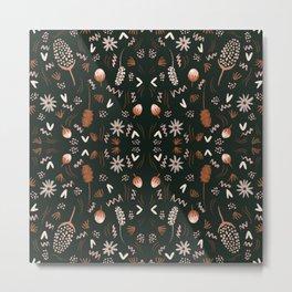 Autumn feeling pattern Metal Print