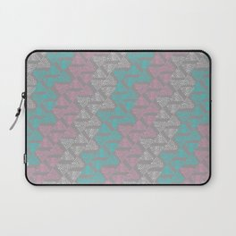 Diagonal Spots stone Laptop Sleeve