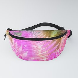 Jane, Colorful tropical abstract Fanny Pack