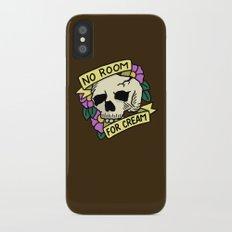 No Room For Cream Slim Case iPhone X