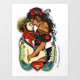 !Oh, Chiapaneca mi amor! Art Print