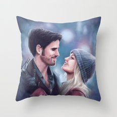 Welcome home, love Throw Pillow