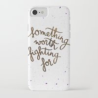 snape iPhone & iPod Cases featuring Something worth fighting for by Earthlightened