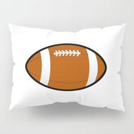 Rugby Ball Pillow Sham