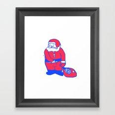 Present from santa Framed Art Print