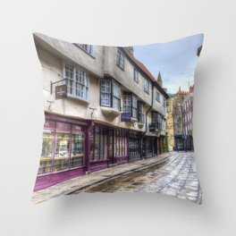The Shambles York Throw Pillow