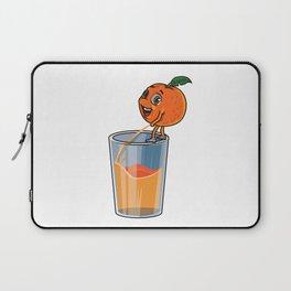 Freshly Squeezed Orange Juice Laptop Sleeve