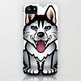 Wolf winter iPhone Case