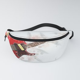 Electric Guitar Art Fanny Pack