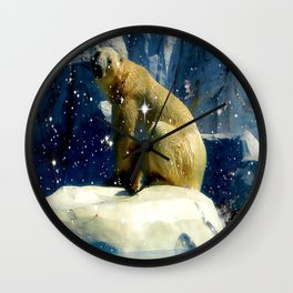 Arctic Beauty Wall Clock