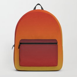 Fall Abstract Autumn Gradient Pattern Backpack