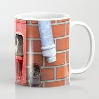 gumball Mugs featuring Vintage Gumball Machine by Premium