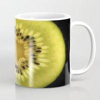 kiwi Mugs featuring Kiwi by eduardofajardo