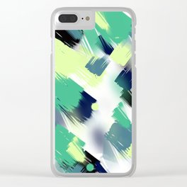 Abstract pattern 153 Clear iPhone Case