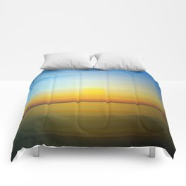 Abstract Landscape 28 Comforters