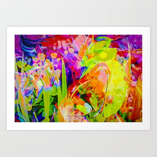 Abstract - Perfektion 91 Art Print