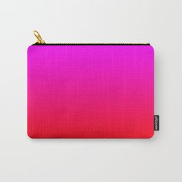 Be My Valentine Ombre Carry-All Pouch